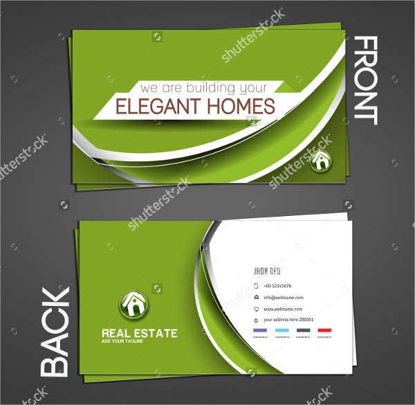 High End Realtor Business Card