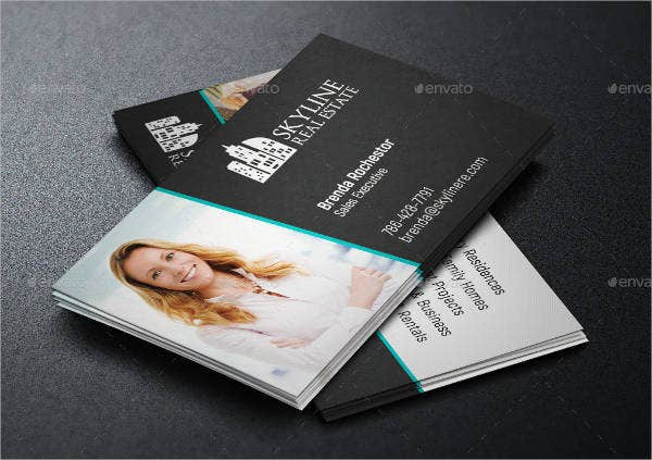 9 realtor business cards free psd vector eps ai format download modern realtor business card wajeb