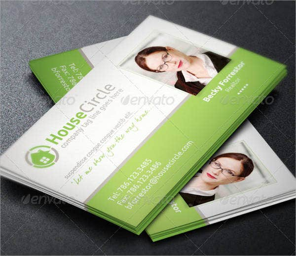 Realtor Business Cards Free PSD Vector EPS AI Format - Real estate business card template
