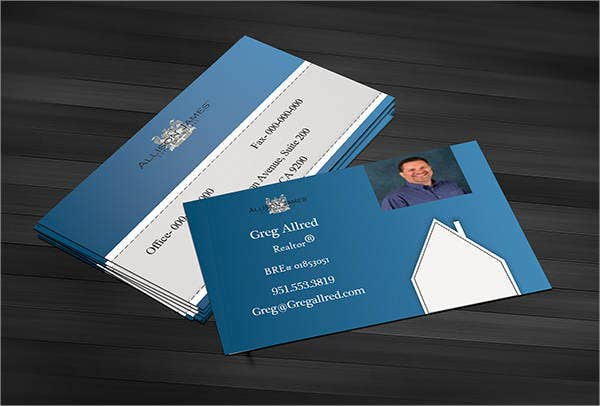 Realtor Business Card with Photo