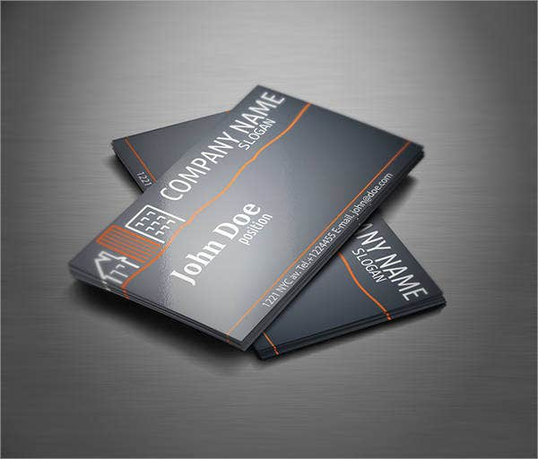 Realtor Leaving Business Card