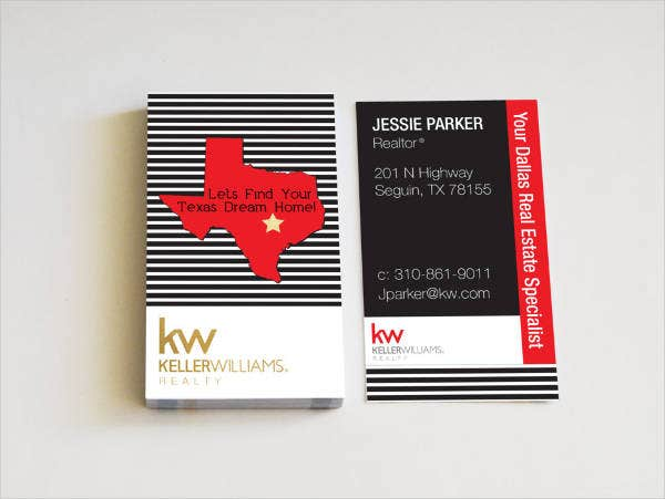 Vintage Realtor Business Card