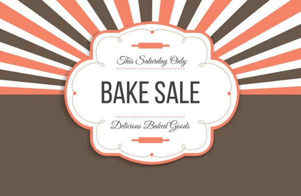 Free Printable Bake Sale Flyer