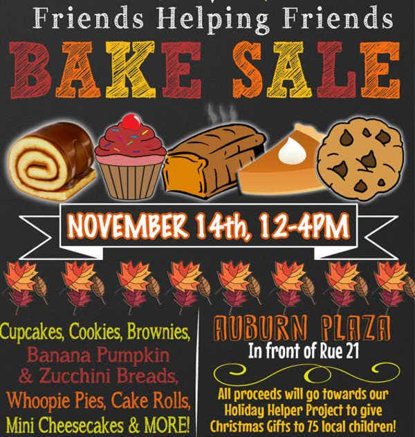 Nice Unique Bake Sale Flyer