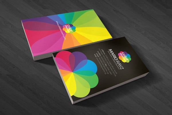 19 examples of colorful business cards free premium templates free download business card colourmoves