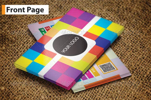 Corporate Colorful Business Card
