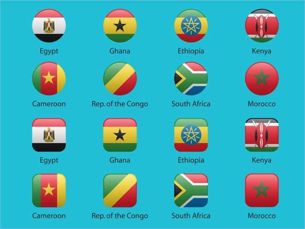 Free Flat Flag Icons