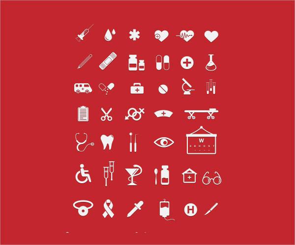 Free Medical Flat Icons
