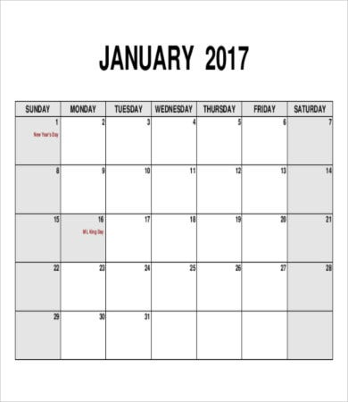 Blank Monthly Calendar 6 Free Word Pdf Documents Download Free