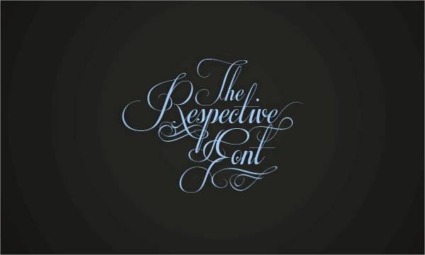Script Elegant Font