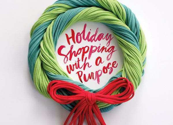 holiday creative watercolor typography