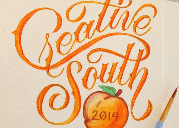 Creative Watercolor Typography