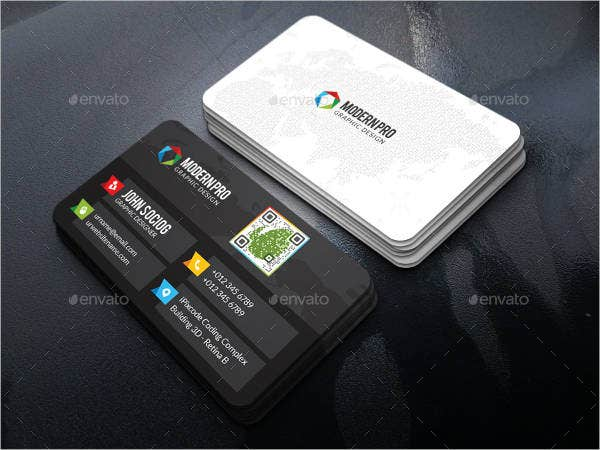 modern business cards 9 free psd vector ai eps format