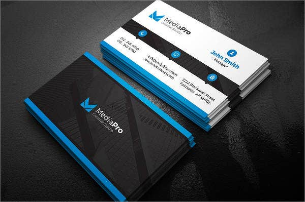 Modern business cards 9 free psd vector ai eps format modern creative business card colourmoves