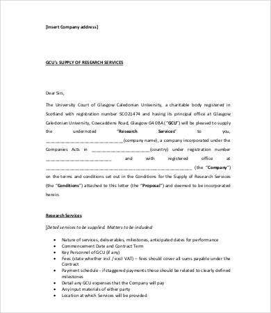 consultancy offer letter template