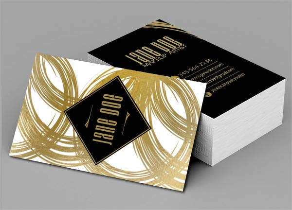 Digital Artist Business Card