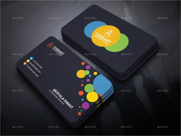 14  best artist business card templates