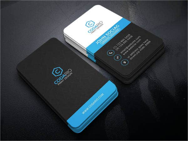 12  modern business card templates