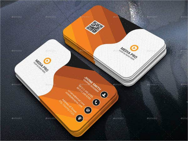 customizable business card template