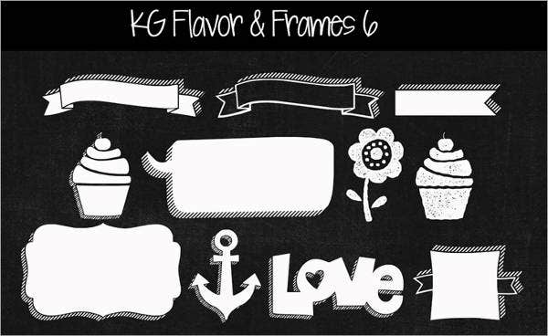 KG Flavor And Frames Six Font