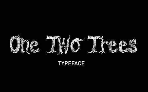 One Two Trees Font