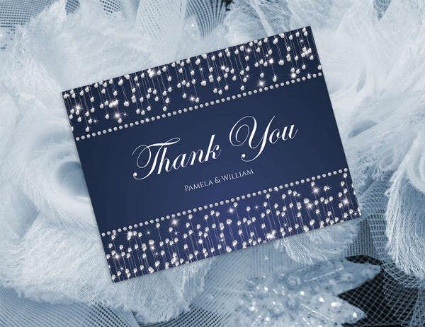 bridal shower thank you template