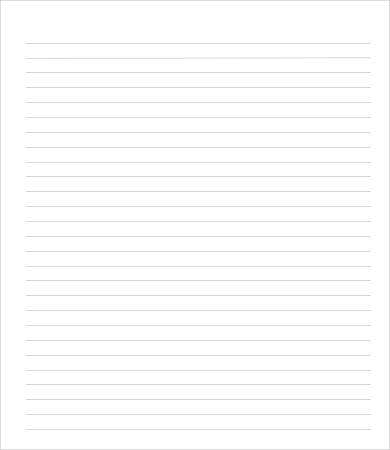 College Ruled Paper Template   Free Pdf Documents Download  Free