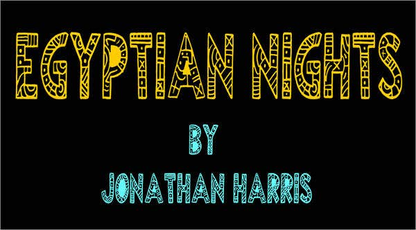 Egyptian Nights Font