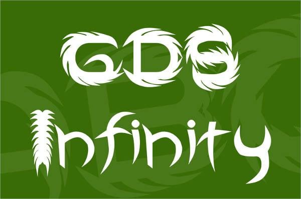 GDS Infinity Font