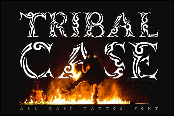 tribalcase font