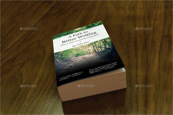 nature book cover design