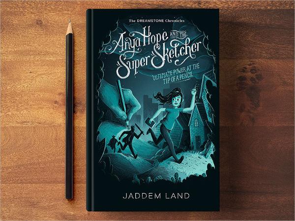 cartoon book cover design