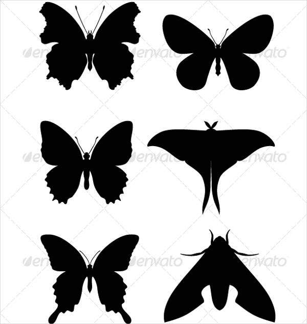 abstract-butterfly-silhouettes