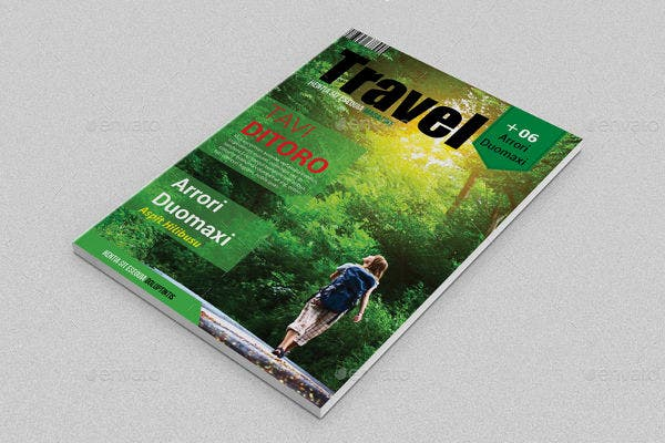 Best Travel Magazine Template
