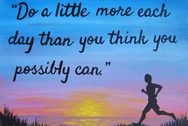 Inspirational Fitness Quote Poster