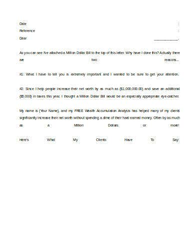 financial advisor introduction letter template