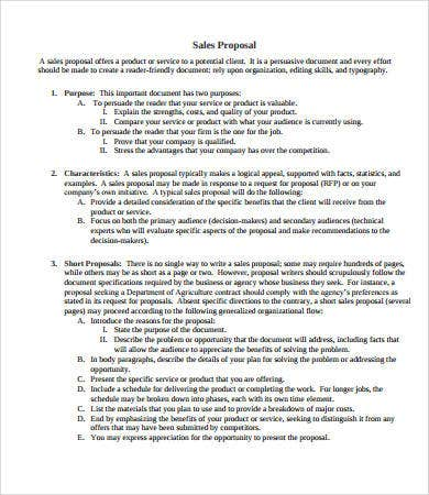 Sales Proposal   Free  Documents Download  Free  Premium