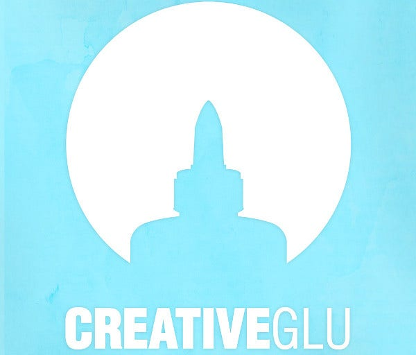 Creative Glu Logo Illustration