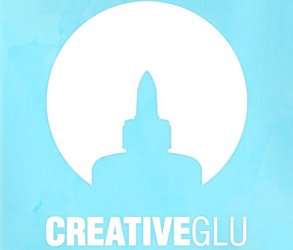 creative glu logo illustration