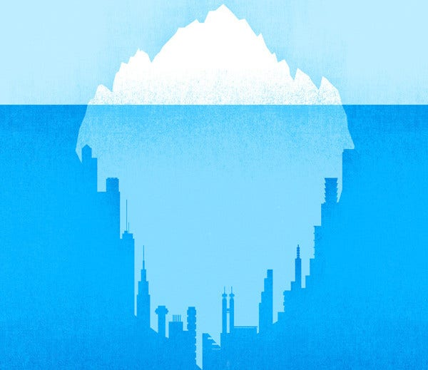 Awesome Negative Space Illustration