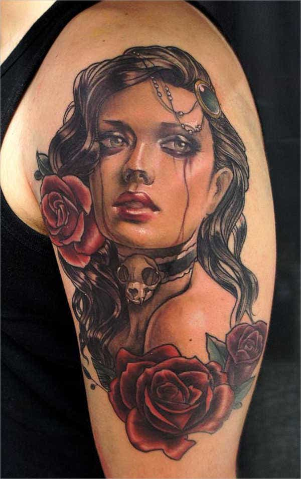 portrait-sleeve-tattoo-design