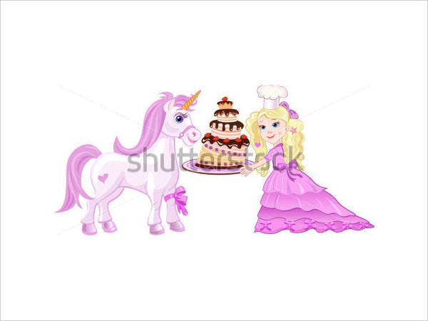 princess tea party birthday invitation1