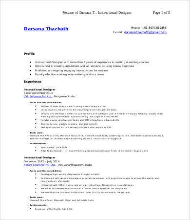 Resume Instructional Design Instructional Design Resume Examples Kick Ass  Cover Letter Kick Ass Kick Ass Cover  Instructional Design Resume