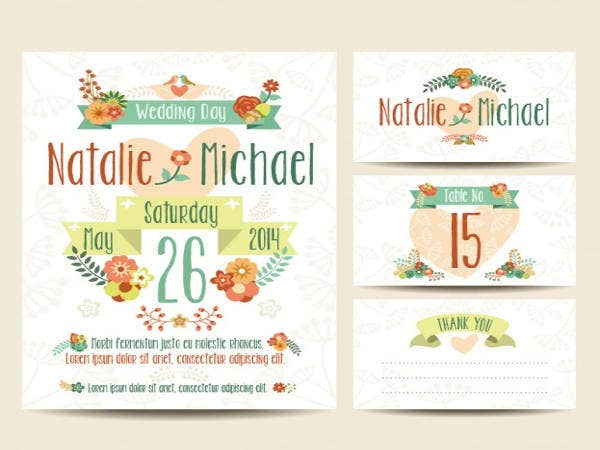free printable wedding invitation samples1