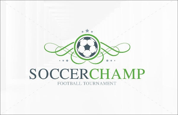 Soccer Champion Logo Template