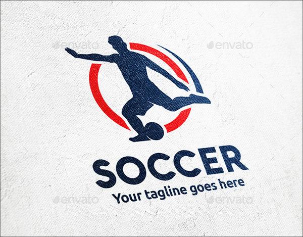 Soccer Player Logo