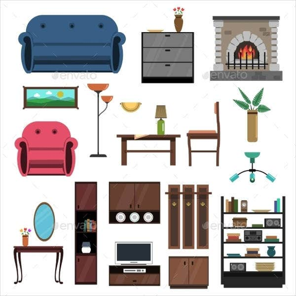 flat-interior-icons
