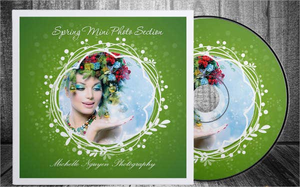 Spring Theme CD cover Templates