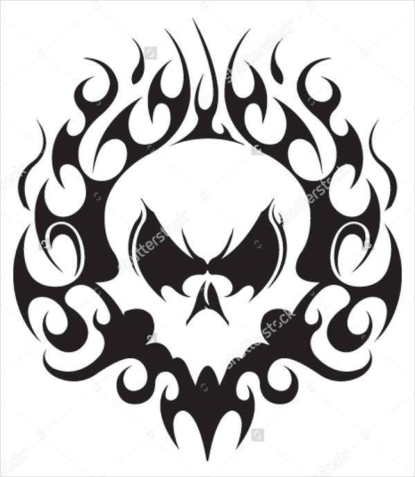 skull-tattoo-vector