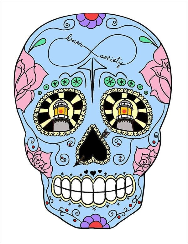 sugar-skull-vector